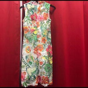 Gracia Floral Lace Dress size L